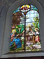 Raismes (Nord, Fr) Église Saint-Nicolas, vitrail 06.JPG