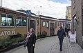 Raitiovaunu Aleksanterinkadun ja Unioninkadun kulmassa - G6474 - hkm.HKMS000005-km0000oihg.jpg