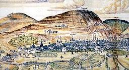 Rammelsberg Goslar Bildkarte 1574 Matz Sincken