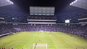 Estadio Cuauhtémoc - Image: Rampa norte