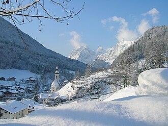 Ramsau bei Berchtesgaden - Image: Ramsau Berchtesgadenland Germany