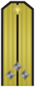 Rank insignia of Старши лейтенант of the Bulgarian Navy.png