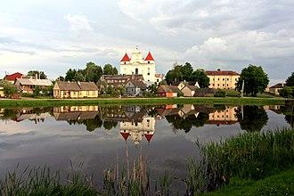 Raseiniai District Municipality - Pond near Raseiniai