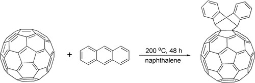 Reaction of C60 with anthracene.tif