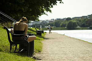 The Lakes, Copenhagen - Reading at Sortedam Lake