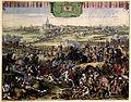 Recapture of Naarden by William III in 1673 -Belegeringe der Stadt Naerden (Romeyn de Hooghe).jpg