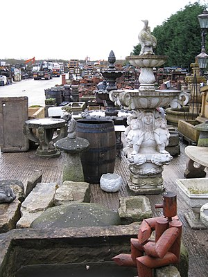 English: Reclamation yard, Moss Lane, Macclesf...