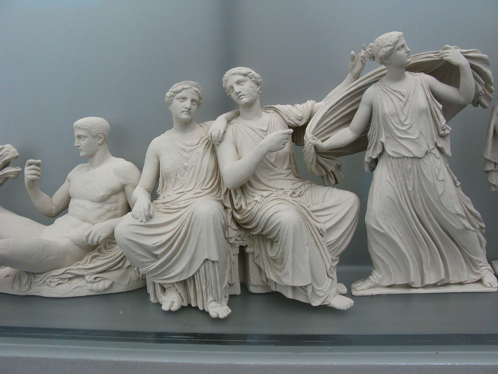 Reconstruction of the east pediment of the Parthenon 3