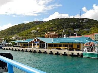 Red Hook, U.S. Virgin Islands - Arriving at the ferry port