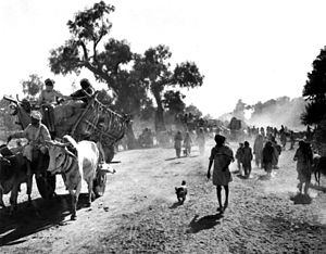 Kasur - Image: Refugee at Balloki, Kasur during partition of India