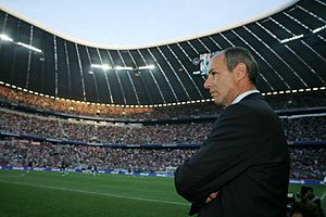 Reiner Maurer - Maurer in the Allianz Arena in 2005.