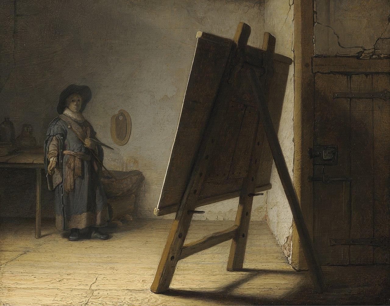 Rembrandt The Artist in his studio.jpg
