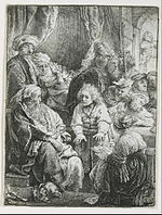 Rembrandt van Rijn - Joseph Telling His Dreams - Google Art Project.jpg