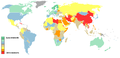 Reporters without borders 2005 press freedom ranking.PNG