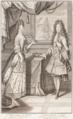 Retrato duplo dos Marqueses de Arronches, D. Marianna de Sousa e D. Carlos Joseph de Ligne (1694) - Brás de Almeida e Pierre Giffart.png