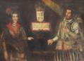 Retratos de D. Fernando III de Castela e D. Brites da Suábia (séc. XVII) - Palácio Ficalho, Serpa.png