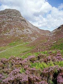 Rhinog Fawr mountain in United Kingdom