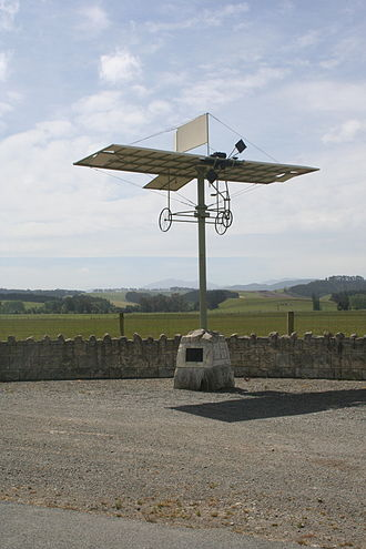 Claims to the first powered flight - Richard William Pearse Monument