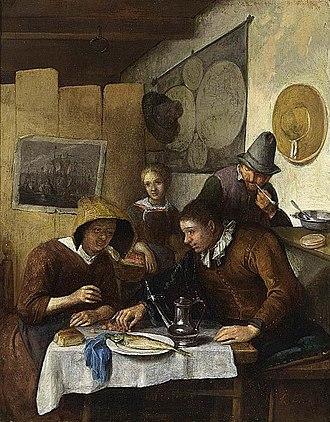 Richard Brakenburgh - Image: Richard Brakenburgh Family Having Breakfast WGA03046