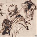 Richard Parkes Bonington - Study of a Gentleman in 17th Century Costume, After Van Dyck - Google Art Project.jpg