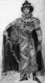 Rimsky-Korsakov - The Tale of Tsar Saltan - costume sketch for Gvidon - 1900.png