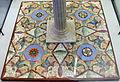 Riproduzione di opus sectile da pavim. di casa dell'efebo, pompei (4 esagoni originali da triclinio della casa delle vestali).JPG
