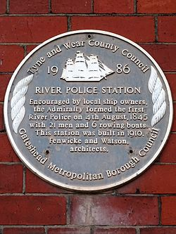 River police station gateshead