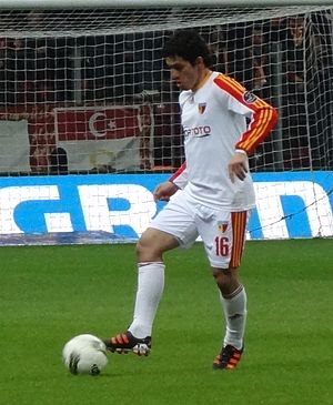 Cristian Riveros - Riveros with Keyserispor.