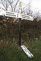 Road Sign at Steeple, Dorset - geograph.org.uk - 82569.jpg