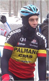 Rob Goris Belgian ice hockey player and cyclist