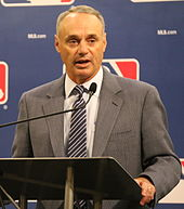 Picture of Rob Manfred, the Commissioner of Major League Baseball