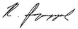 Robert Kocharyan signature.png