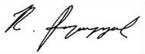 Robert Kocharyan - Image: Robert Kocharyan signature