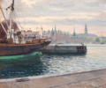 Robert Panitzsch - Islandsk skib i Københavns havn.png