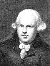 Man with powdered wig