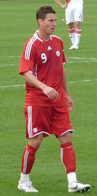 Rob Friend - Friend playing against Peru  at BMO Field on September 4, 2010
