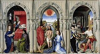 triptych by Rogier van der Weyden
