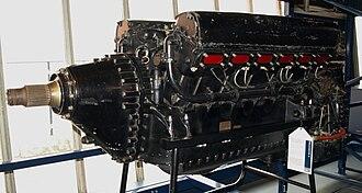 Hiduminium - A Rolls-Royce R engine