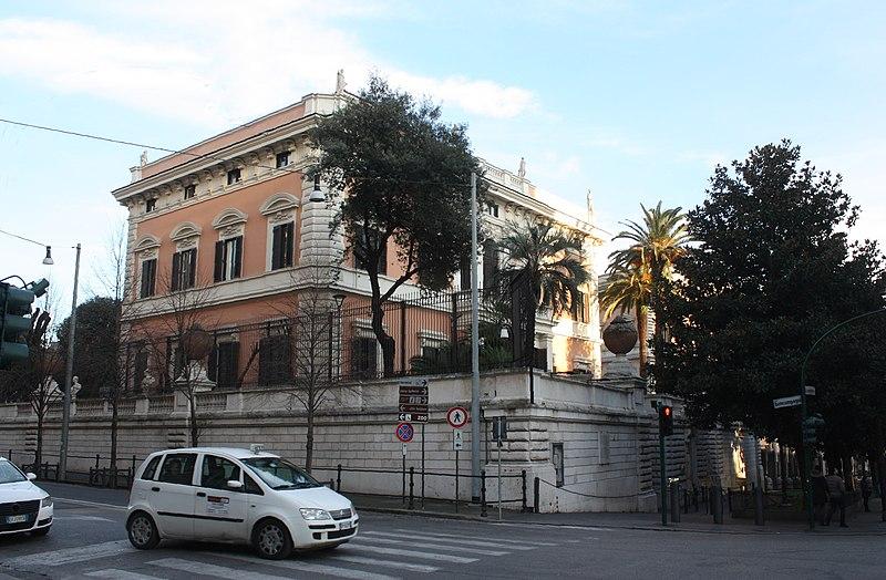 File:Rom, die Botschaft der USA, Bild 1.JPG
