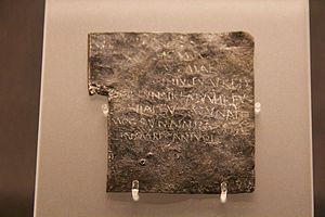 Bath curse tablets - Image: Roman baths 2014 57