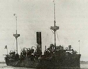 NMS Elisabeta - Image: Romanian protected cruiser Elisabeta