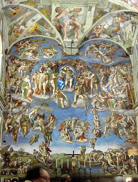 Ficheiro:Rome Sistine Chapel 01.jpg