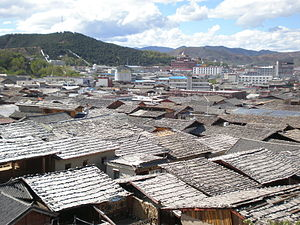 Shangri-La City - Old Town of Jiantang