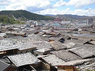 Shangri-La City - Old Town of Jiantang