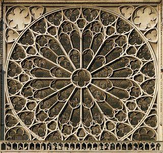 Rose du transept Sud Notre-Dame de Paris 170208 04
