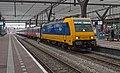 Rotterdam Centraal 186 119 met IC direct 939 Amsterdam (16968927381).jpg