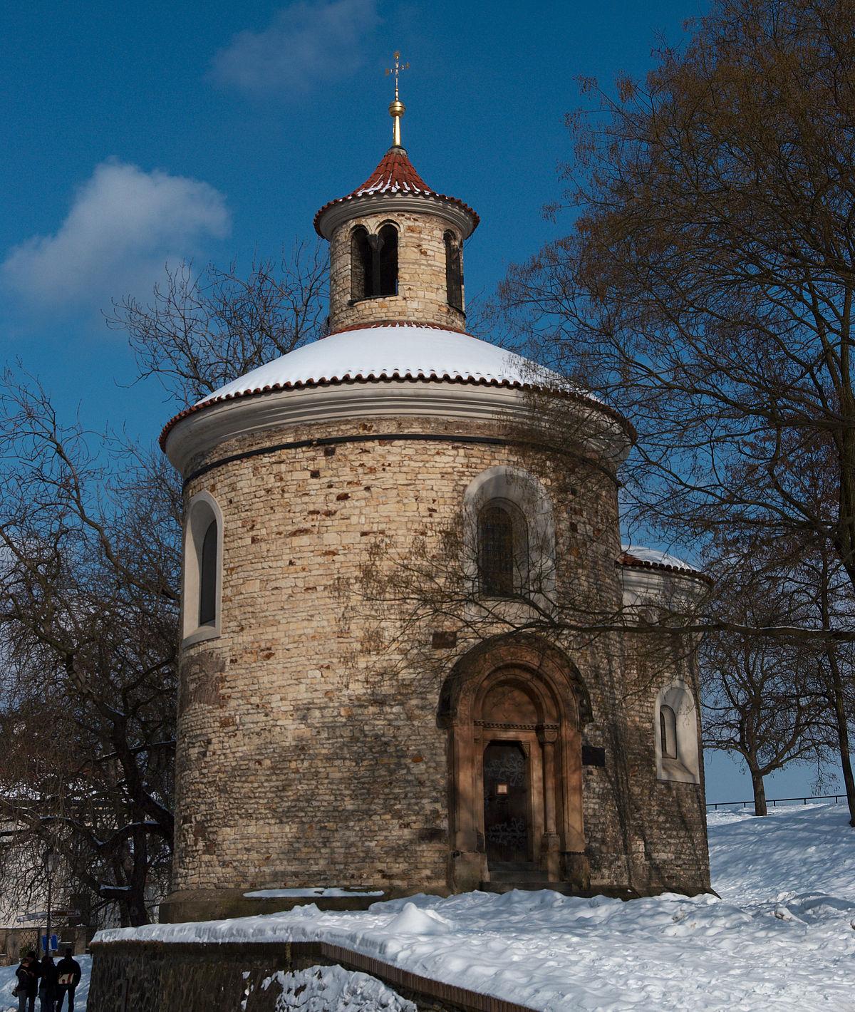 Vyšehradská Kapitula: Rotunda Svätého Martina (Vyšehrad)