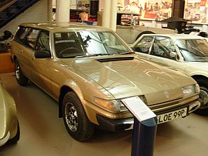 British Motor Museum - A prototype Rover SD1 Estate