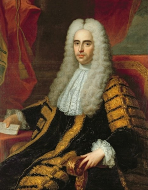 Methuen Treaty - Portrait of John Methuen (1650-1706), by Adrien Carpentiers.