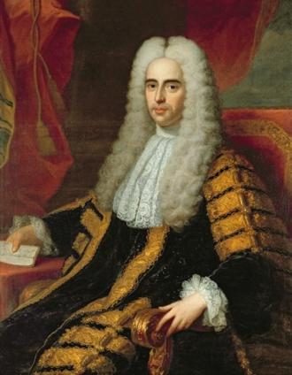 Methuen Treaty - Portrait of John Methuen (1650-1706), by Adrien Carpentiers.